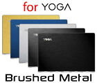 Textured Brushed Metal Skin Kit Lenovo Yoga 710 900 910 Protector Sticker Cover