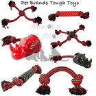 Pet Brands Large Dog Tough Toy Ball Tugger Rhino Pull Extra Strong powerful Jaws