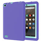 USA ShockProof Defender Rubber PC Case Cover For Amazon Kindle Fire 7 Tablet