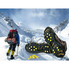 US Ice Snow Cleats Anti-Slip Shoes Covers Studded Boots Traction Spike Crampons