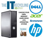 DELL, HP, LENOVO, ACER DESKTOP PC COMPUTER - CHOOSE YOUR OWN SPEC - WINDOWS