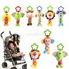 Внешний вид - Baby Infant Rattles Plush Animal Stroller Music Hanging Bell Toy Doll Soft Bed