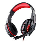 3.5mm Stereo Gaming Headset USB Headphone with Microphone LED Light For PS4 PC