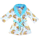 new kids Frozen Elsa winter dressing gown robe pyjama pjs size 2 3 4 sleepwear