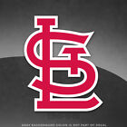 "St. Louis Cardinals Logo Vinyl Decal Sticker MLB - 4"" and Larger Sizes - Glossy on Ebay"