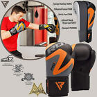 RDX Boxing Gloves Bag Training Mitts UFC MMA Sport Leather Strap Fitness 10 16oz