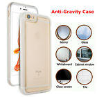 New Anti Gravity Magical Nano Sticky Clear Case Cover For iPhone 5 SE 6s 7 Plus
