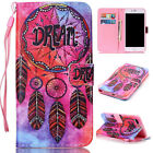 Hot Painted Leather Strap Magnetic Wallet Stand Case Cover For iPhone 6s 7 Plus
