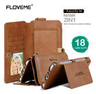 New Floveme Leather Case Flip Card Wallet Zipper Cover For iPhone 5,6 6s 7 plus