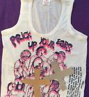 Seditionaries Prick Up Your Ears VEST Gay PuNk Org* Party Top ADULT Sm 36""