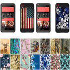For HTC Desire 530 630 DARK COLOR Hybrid Dual Layer Armor Design Brush Case