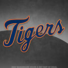 Detroit Tigers Jersey Logo Vinyl Decal Sticker MLB 4 and Larger Glossy