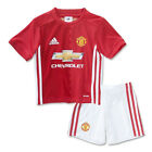 adidas Infant Manchester United 16/17 Home Mini Kit Real Red/White AI6711