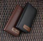 New 6 Style Men Wallet Leather Coin Purse Hangbag Credit Card Holder Zip Around