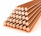99.9% Pure COPPER C101 ROUND BAR COPPER ROD OFFCUTS CHOOSE LENGTH