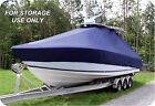 CUSTOM+BOAT+COVER+TIDEWATER+ADVENTURE+252+CC+T%2DTOP+Twin+Motor+W%2FThru%2DHall+Anchor