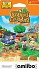 Animal Crossing Welcome Amiibo Cards Series 5 New Leaf NA / US *FREE SHIPPING*