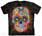 DAY OF THE DEAD SKULL T- SHIRT   Small - 5X  CALAVERA
