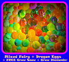 FAIRY & DRAGON EGGS Large Bag MIX Orbeez *Free* Grow Snow  + More.