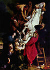Descent from the Cross by Rubens (Antwerp Christian art print)