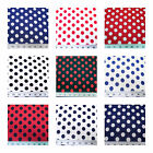 Discount Fabric Printed Lycra Spandex Stretch Polka Dots Choose Your Color