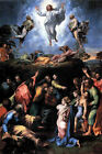 Classic Christian art print of Christ: Transfiguration