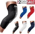 1 PAIR McDavid HEX Padded Knee Pads Basketball Compression Leg Sleeve Support