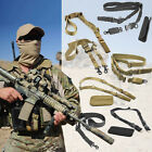 Tactical 1- 2 Point Rifle Sling QD Gun Strap Hunting Bungee Quick Release DetachTactical Slings - 177901
