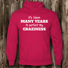 Perfect My Craziness Childrens Hoodie -- Funny Boys Girls Crazy Mad Kids Hood