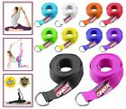Yoga Stretching Strap D-Ring Belt 180 cm Waist Leg Fitness Exercise 100% Cotton