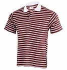 Genuine Men's T-Shirt Polo Shirt New Striped Design