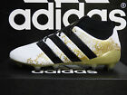 NEW AUTHENTIC ADIDAS ACE 16.1 Primeknit FG Men's Soccer Cleats - Wht/Gld; S76474