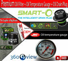 Oil Filter+Temp Gauge+Smart-o Drain Plug- Kawasaki ZZR 1400 B ABS - 2006 for sale  United Kingdom