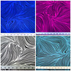 Discount Fabric Printed Lycra Spandex Stretch Abstract Zebra Choose Your Color