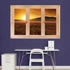 "Fathead Removable Instant Windows CITIES  4'3""W x 2'10""H Change your View NWT"
