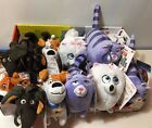 Secret Life of Pets Clip On 6in Plush Figure NEW Max Chloe Gidget Buddy