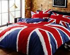 Rapport Union Jack Flag Red White And Blue Duvet Set Single/Double/King