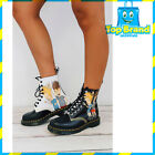 Dr. Martens Unisex Genuine Smooth Leather Boots Pascal Beavis & Butthead Smooth