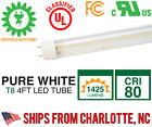 CLOSEOUT 4ft LED Tube Lighting T8 Lamps - 5000K Pure White, Superior Quality