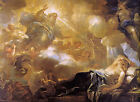 The Dream of Solomon by Luca Giordano (Classic Italian Religious Art Print)