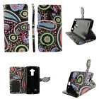 Phone Wallet Case For LG G Stylo LS770 -Card Slot-Leather(PU)-Flips-Stands-Strap