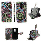 Wallet Phone Cases for LG K10 -Card/Cash/ID Slot-Leather(PU)-Flip Cover-Stands