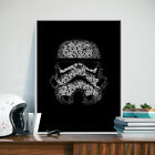 Stormtrooper Star Wars 7 Minimalist Canvas Poster Painting Decoration FA355 $7.38 CAD