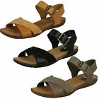 Ladies Clarks Autumn Air Casual Leather Summer Sandals D Fitting