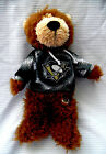 NHL PITSBURGH PENGUINS TEDDY BEAR (14 INCHES) ***NHL Licensed***