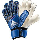 adidas Men's Ace FingerSave Replique GoalKeeper Gloves Blue/Black/White AZ3685