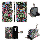 Phone Wallet Case for LG V10 -Leather(PU) Cover-Magnetic-Card Slots-Stands-Strap