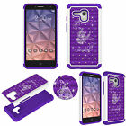 Bling Diamond Jewel Case for Alcatel One Touch Fierce XL Shockproof TPU+PC Cover