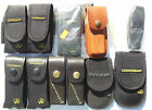 Leatherman Sheaths - Nylon and Leather, Juice to Wave/Charge and Surge - New