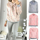 Fashion Women's Casual Long Sleeve Hoodie Jumper Pullover Sweatshirt Shirt Tops